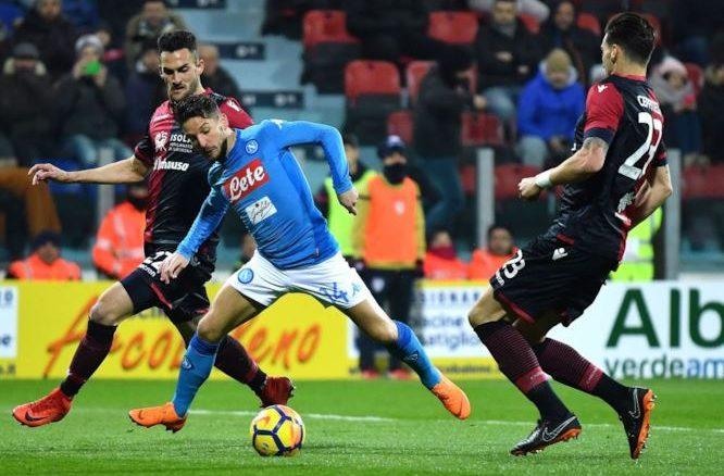 Napoli vs cagliari betting tips in game betting cantor fitzgerald