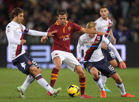 cagliari vs roma 120718