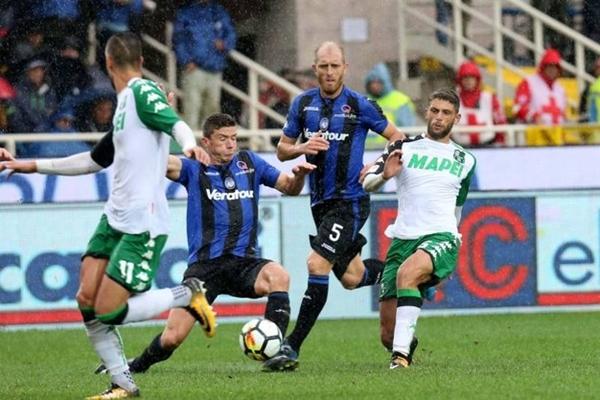 sassuolo vs atalanta 122818
