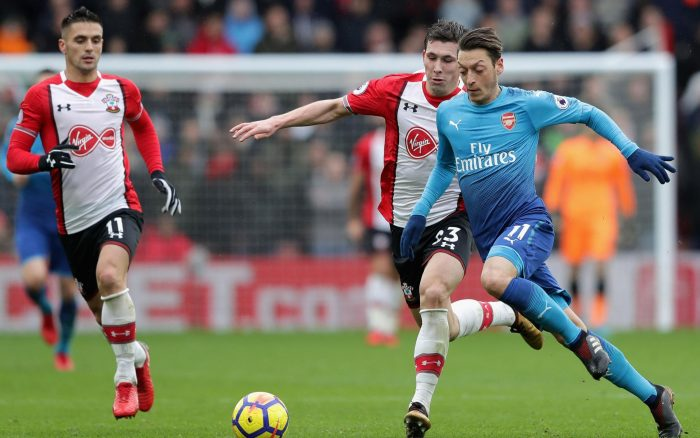 southampton vs arsenal 121618